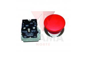 Botão Cogumelo de Parada do Rolo Compactador XCMG XS122/XS123