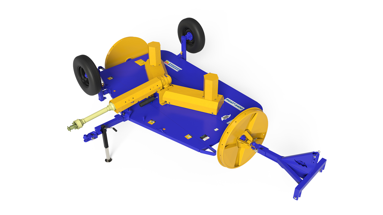 Roçadeira de Arrasto Modelo 1700 e 3400-ROAT